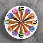 """Wall clock, series: the Kitchen, the """"horns 12 """", 24 cm, mix"""
