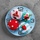 "Wall clock, series: the Kitchen, ""Mini cakes"", 24 cm"
