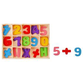 Счетный материал 'Цифры и знаки', 30 элементов Ош