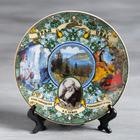 "Plate souvenir ""the Urals. Tales Bazhova"", 15 cm, ceramic, decal"