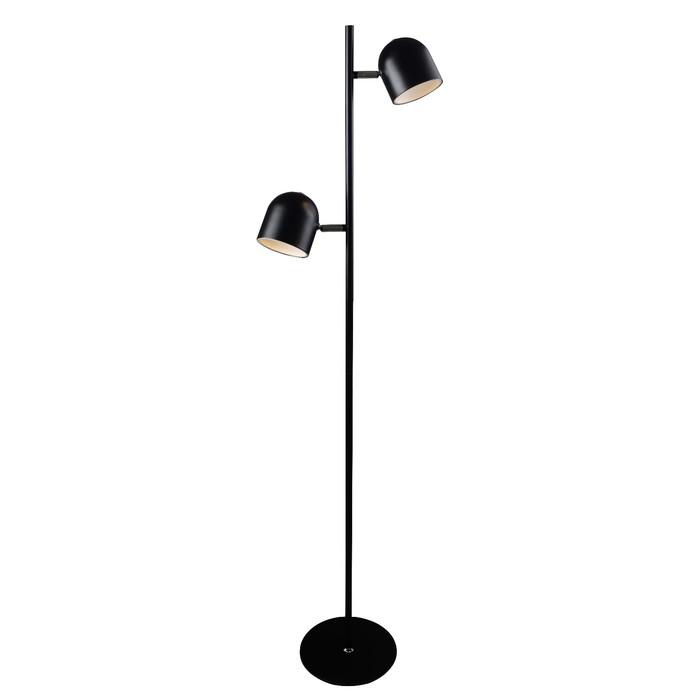 Торшер SKANSKA 2x5Вт LED черный 32x32x141см