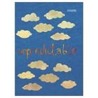 Тетрадь 48 листов, в клетку А5 на скрепке Kroyter Unpredictable в картонной обложке