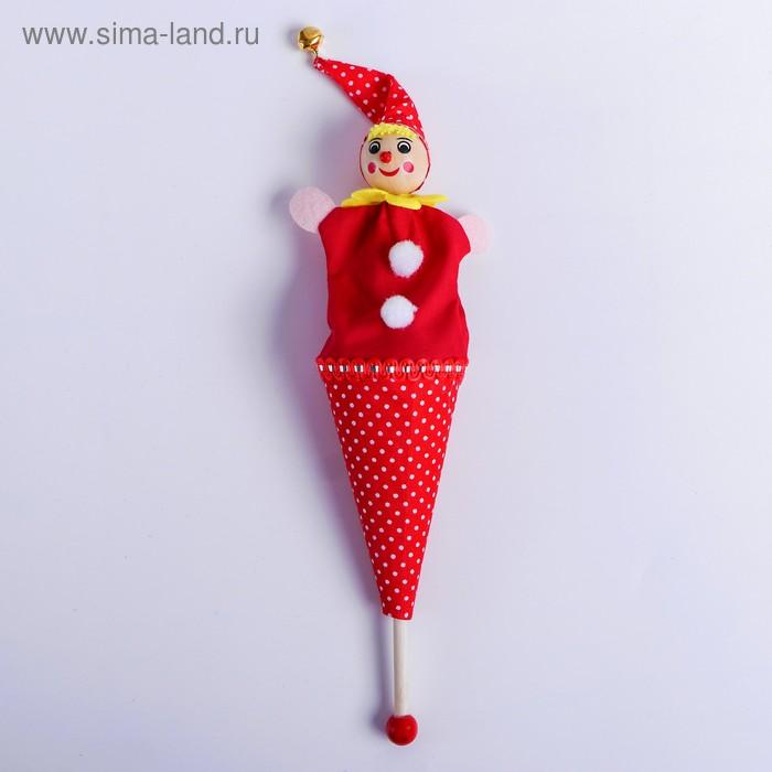 Сувенир - дергунчик на палочке, цвета МИКС