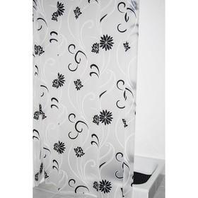 Штора для ванной комнаты Anda полупрозрачная 180х200 см