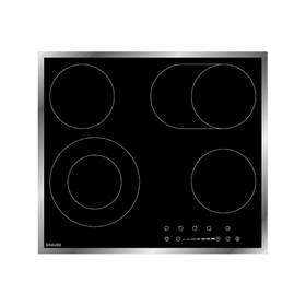 Варочная поверхность Graude EK 60.2 E, независимая, стеклокерамическая, 4 конфорки, черное стекло