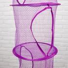 Корзина для игрушек подвесная «Сетка», 5 отделений, цвета МИКС - фото 105492947