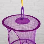 Корзина для игрушек подвесная «Сетка», 5 отделений, цвета МИКС - фото 105492948