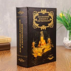 """Сейф-книга """"Доходы и сверхдоходы"""""""