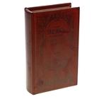 """Шкатулка-книга """"План накопления богатств"""", обита искусственной кожей"""