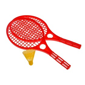 Beach rackets 2 pcs., Shuttlecock