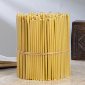 Свечи медовые №140, упаковка 2кг, парафин + медовое масло