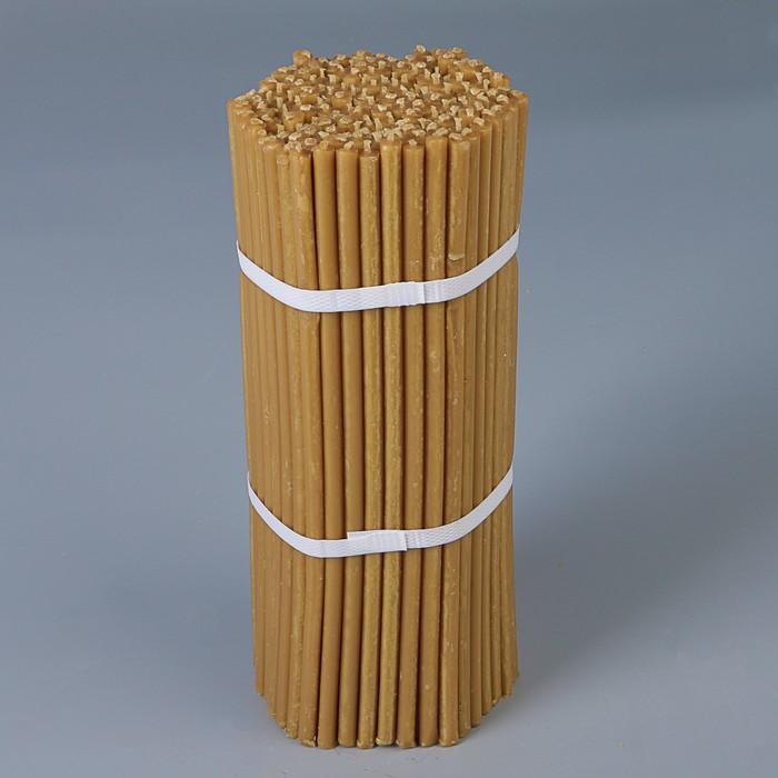 Свечи медовые №40, упаковка 2кг, парафин + медовое масло