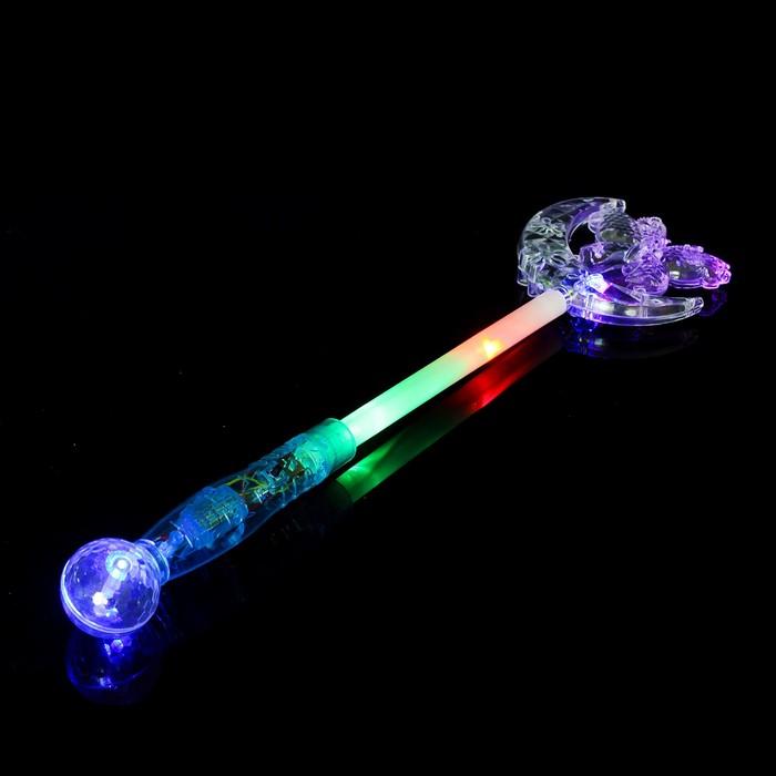 Палочка световая «Бабочка», прозрачная, цвета МИКС