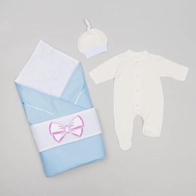 Комплект детский ПЕРЫШКО (всесезонный), цвет голубой