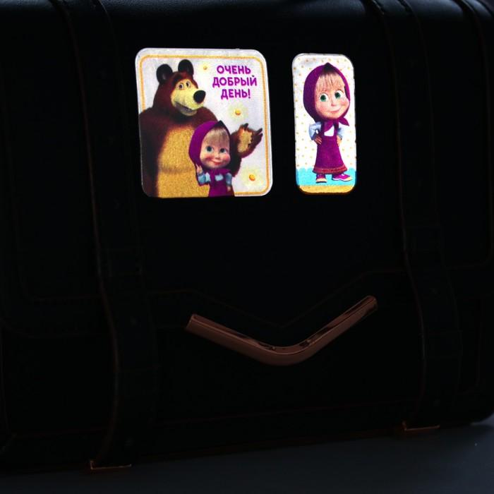 Наклейки светоотражающие, Маша и Медведь