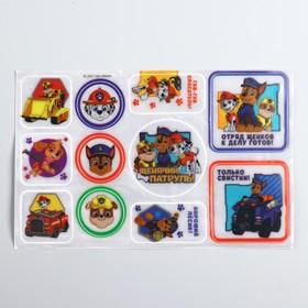 Paw Patrol. Reflective stickers