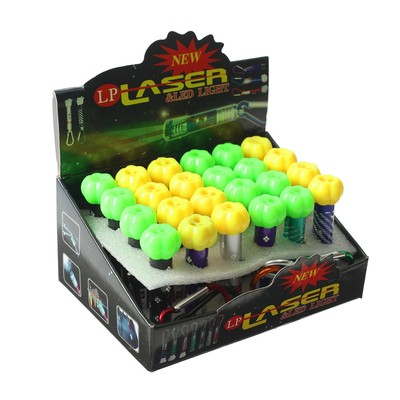 Лазер «Стрелок», с фонариком, цвета МИКС