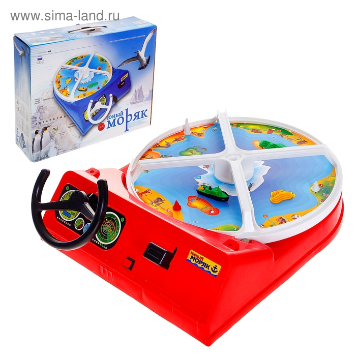 Настольная игра «Юный моряк»