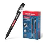 Ручка-роллер Erich Krause METRIX, узел 0.5, чернила черные, длина письма 1200 м