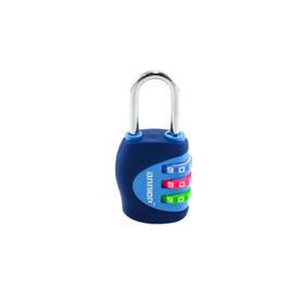"""Замок навесной """"АЛЛЮР"""" ВС1К-27/4 (F5), кодовый, d=4 мм, синий"""