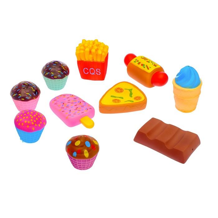 Набор продуктов «Быстрая еда», 10 предметов