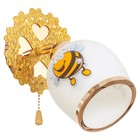 "Бра ""Пчелка"" 1x40Вт E27  золото 15х23х16 см."