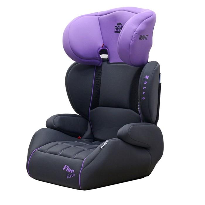 Автокресло MACRO, группа 2-3 (15-36 кг), цвет фиолетовый