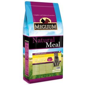 Сухой корм MISTER PET MEGLIUM NEUTERED для стерилизованных кошек, курица/рыба, 15 кг
