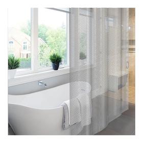 Штора для ванной Meiwa Linea, 182 х 182 см, цвет серый