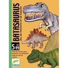 Детская настольная карточная игра «Динозавры»
