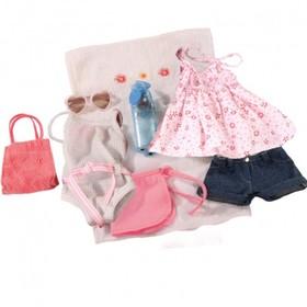 Набор летней одежды и аксессуаров Gotz для кукол 46-50 см., 10 вещей в Донецке