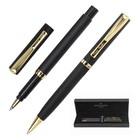 Набор пишущих принадл. PIERRE CARDIN шарик.ручка+ручка-роллер, черный корпус 142471