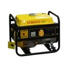 Электрогенератор Eurolux G1200A, бензиновый, 1/1.1 кВт, 220 В, 2.4 л.с., 6 л, ручной старт