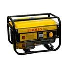 Электрогенератор Eurolux G4000A, бензиновый, 3/3.3 кВт, 220 В, 7 л.с., 15 л, ручной старт