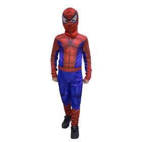 Карнавальный 3D-костюм «Паук», комбинезон, маска, рост 134 см