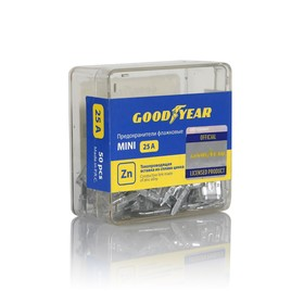 Флажковые предохранители Goodyear «мини», набор 50 шт., 25А