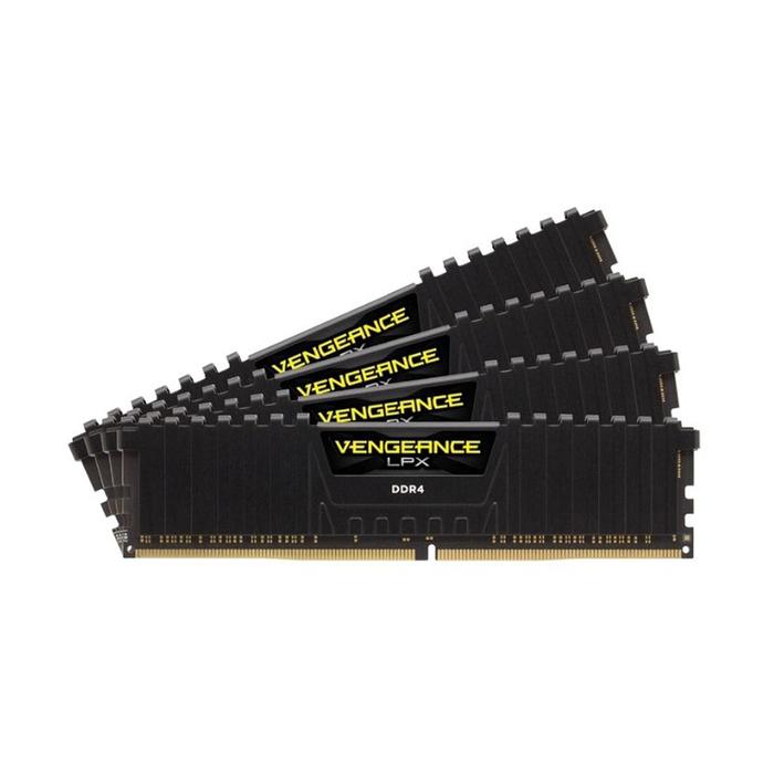 Память DDR4 64Gb 2400MHz Corsair CMK64GX4M4A2400C16 RTL PC4-24000 CL16 DIMM 288-pin 1.2В