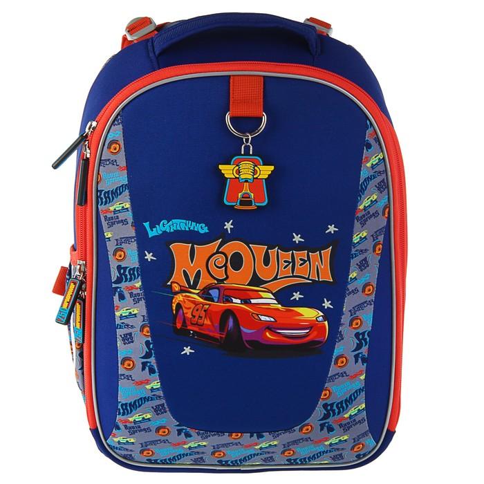 3393d9976b0f Рюкзак каркасный школьный эргономичная спинка Erich Krause 36х27х17см  Disney Тачки Ретро ралли