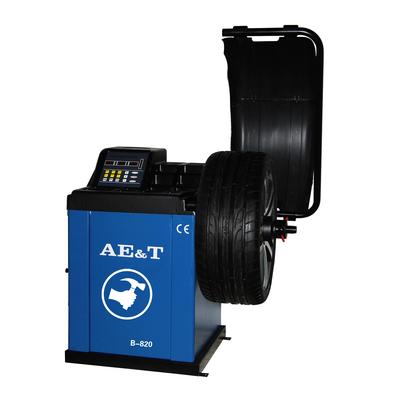 "Cтенд балансировочный AE&T B-820, электронная линейка, d 10-24"", ширина 1.5-20"", до 65 кг"
