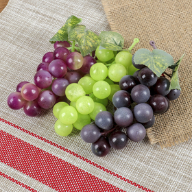 Artificial grapes, berries 22 Matt mix