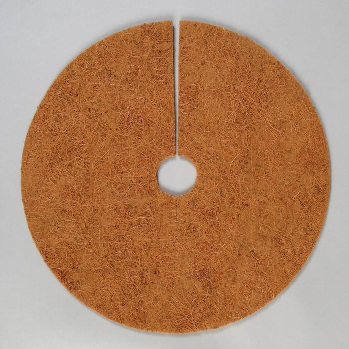 Круг приствольный, d = 0,4 м, из кокосового полотна, набор 5 шт., «Мульчаграм»