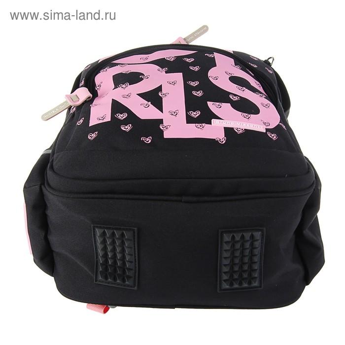 2571f8878ce3 Рюкзак школьный эргономичная спинка 40 х 30 х 16 см Bruno Visconti Girls,  черный. prev