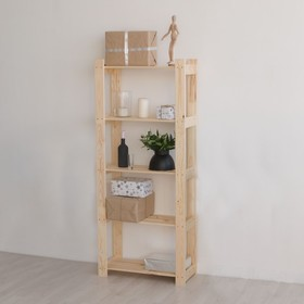 """Стеллаж деревянный """"Гамма"""", 64×28×159см"""