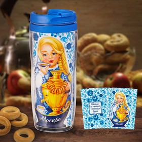 "The Vacuum Cup ""Moscow. Matryoshka"" 350 ml"