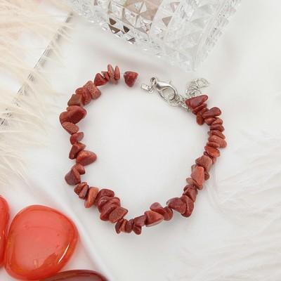 """Bracelet baby 1 thread """"Aventurine brown"""""""