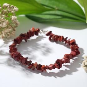 "Bracelet baby 1 thread ""Jasper red"""
