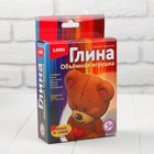 """Игрушка объемная из глины """"Игрушечный мишка""""  Пз/Гл-002"""