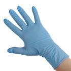 Перчатки нитриловые нестерил неопудр текстур  Benovy S, голубые