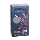 Перчатки нитриловые текстур  Benovy M, перламутровые розовые, 50 пар/100 шт