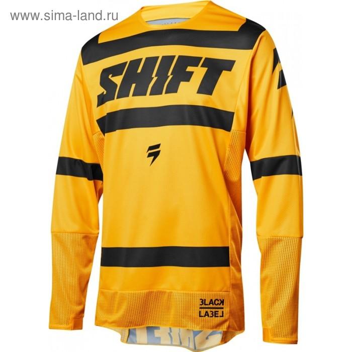 Джерси Shift Black Strike, желтый, размер L